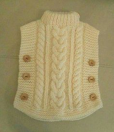 Knitting Patterns Cowl here is a sweaterThis Pin was discovered by hya Baby Sweater Knitting Pattern, Poncho Knitting Patterns, Knitted Poncho, Knitting Stitches, Knit Patterns, Hand Knitting, Knitted Hats, Diy Crafts Knitting, Knitting For Kids
