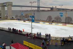 Waterfront Winterfest at Blue Cross River Rink Great Places, Places To Go, Christmas Travel, Blue Cross, Winter Theme, Get Outside, Special Events, Philadelphia, Attraction