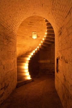 The Granite Staircase at Fort Camden, Cork Harbour. Ireland.    Photo and caption by Joleen Cronin