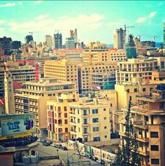 Down town Beyrouth
