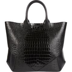 e24f70b22feea5 Givenchy Croc-Stamped Easy Tote Classic Handbags