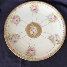 Vintage Decorative Plate - Royal Crescent China (Bavaria) by WRAnimalRescue on Etsy