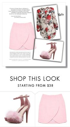 """""""shein"""" by paulaq2 ❤ liked on Polyvore featuring Carven and Kerr®"""