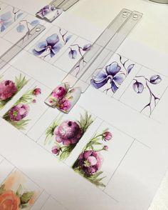 Подготовка к новому курсу по цветочкам ☺️
