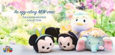 An egg-citing NEW crew - The Easter Mystery Collection
