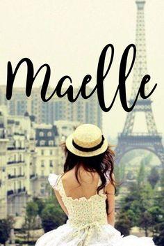 Maelle I Parisian Chic Baby Names I Nameille.com