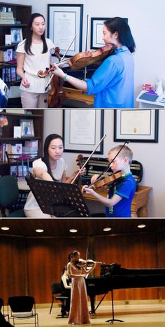 Rachel Li Mcdonald is one of the professional musicians who offer lessons for students of all skill level. This professional also handles viola and violin lessons and more.