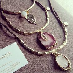 Collar gargantilla semirígida       Nueva Colección Joya  donde podéis encontrar piezas elegantes en diferentes tamaños, maxi collares de...