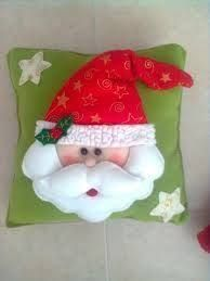 Resultado de imagen para imagenes de cojines navideños 2006 Christmas Sewing, Christmas Fabric, Handmade Christmas, Christmas Time, Christmas Crafts, Merry Christmas, Xmas, Christmas Ornaments, Felt Christmas Decorations