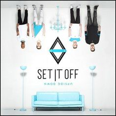 Set It Off Upside Down Vinyl LP Set It Off's new Equal Vision Records album Upside Down was recorded in Los Angeles, CA with producers Brandon Paddock (Panic! At The Disco, Avril Lavigne, Pentatonix),