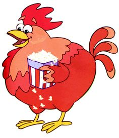 Big Red Chicken from Dora the Explorer