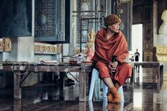 Monk Photo by Inez K. -- National Geographic Your Shot
