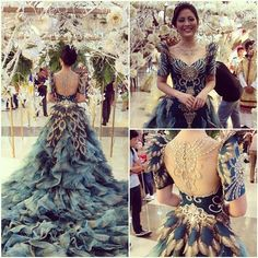 1st Place - Best Filipino Gown AUF's Flores de Mayo 2014 #theatrical # maktumang #