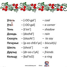 92. #Softsign Russian Language Learning, Learn To Read, Words, Learn Russian, Horse