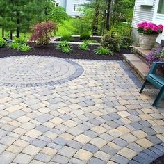 We have a great selection of pavers! In the course of designing your dream patio, be sure to factor the material's aesthetics, durability, and maintenance requirements into your decision-making.
