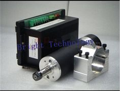 147.99$  Watch here - http://alilq3.worldwells.pw/go.php?t=32601881208 - 600W 13000RPM Air-cooled DC Spindle Motor + Power Supply support for Mach3 system + 57mm clamp For DIY CNC Machine SA028A 147.99$