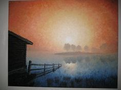 #fog #foggy #forest #lake #landscape #moody #sunset Contact: RomCGallery@gmail.com