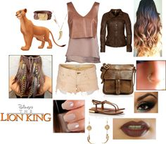 """""""Punk Rock Nala Outfit"""" by casey-carpenter on Polyvore"""