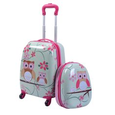 Cute Owl Luggage for Kids