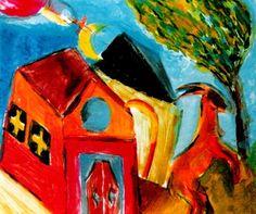 Church Goat - Marc Chagall