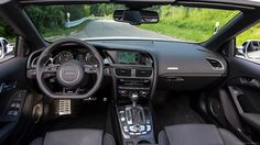 ABT Audi RS5 Convertible Interior for 2560x1440