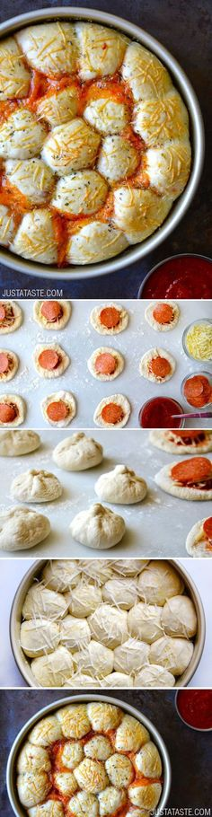 Cheese and Pepperoni Bites