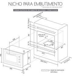 COZINHA: Torre de fornos