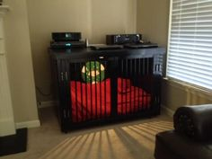 Great looking indoor dog kennel /  Do It Yourself Home Projects from Ana White