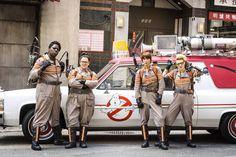 O diretor Paul Feig revelou, via twitter, o nome das personagens da nova versão de Caça-Fantasmas, filme com previsão de estreia para 22 de Julho de 2016.