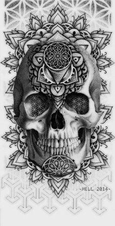 Tattoos on back – Tattoos And Geometric Mandala Tattoo, Geometric Tattoos Men, Geometric Tattoo Design, Geometry Tattoo, Mandala Tattoo Design, Skull Tattoo Design, Tattoo Design Drawings, Tribal Tattoos, Tattoo Designs