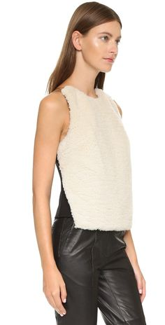 Opening Ceremony Sherpa Invisible Strap Tank | SHOPBOP