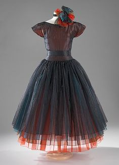 Madame Grès (Alix Barton)1960s vintage silk dress