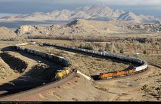 RailPictures.Net Photo: BNSF 7502 BNSF Railway GE ES44DC at Frost, California by Mojavesubmp347.0