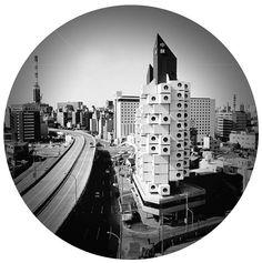 Nakagin Capsule Tower - Tokyo