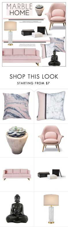 """Classic Elegance: Marble Home"" by pat912 ❤ liked on Polyvore featuring interior, interiors, interior design, home, home decor, interior decorating, Gus* Modern, cupcakes and cashmere, bedroom and kitchen"