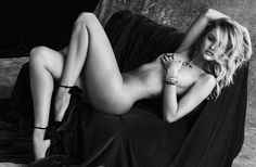 Candice Swanepoel poses in black and white for images captured by Sante D'Orazio. Description from fashionstalker-myobsessions.blogspot.com. I searched for this on bing.com/images