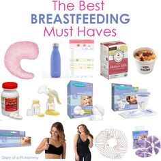 Diary of a Fit Mommy   The BEST Breastfeeding Must Haves   http://diaryofafitmommy.com