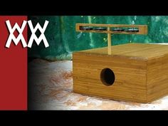 Build your own multi-function stomp box / tambourine / cajon - YouTube