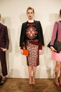 J.Crew Fall 2013 presentation. Photo: Andy Kropa/Getty Images for Mercedes-Benz Fashion Week.