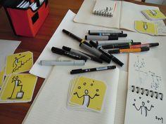 Bikablo '퍼스널 비주얼 보카(voca) 카드(포켓용)' 준비 - drawing
