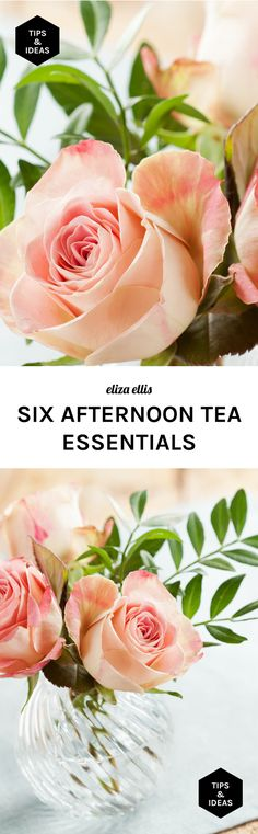 Six Afternoon Tea Essentials - A few things to make your afternoon tea party an event to remember, whether it's for a bridal shower, baby shower, birthday party or just because! - by Eliza Ellis