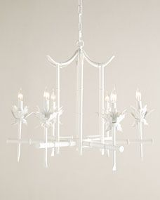 NM EXCLUSIVE Bamboo-Motif Chandelier