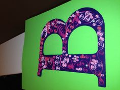 Paper Quilling Letter B