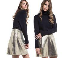 Skater Skirt, Sequin Skirt, Sequins, Skirts, Fashion, Moda, Fashion Styles, Skater Skirts, Skirt