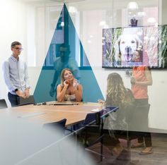 Meeting room | Software and Technology | Gresham | Interaction offices | Office Design | Cool offices in Bristol | Colourful office | Brew House in Bristol