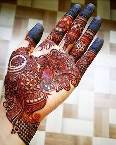 Henna Design By Fatima Henna Hand Designs, Latest Bridal Mehndi Designs, Full Hand Mehndi Designs, Mehndi Designs 2018, Mehndi Designs For Beginners, Modern Mehndi Designs, Mehndi Designs For Girls, Mehndi Design Photos, Wedding Mehndi Designs