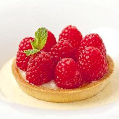 #Raspberry Bakewell Tart