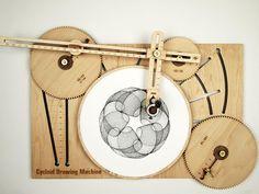 Эскиз замысловатые узоры с помощью ручной машины рисования - Творцами