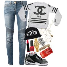 Untitled #630, created by neekcole on Polyvore