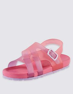 Footbed Jelly Sandals (1-7 Years)